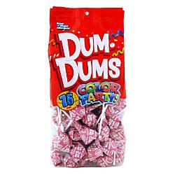 Dum Dums Watermelon Lollipops Party Hot