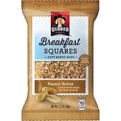 Quaker Oats Foods Breakfast Squares Soft