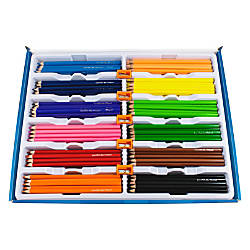 Helix Colored Pencils Classpack Assorted Barrel