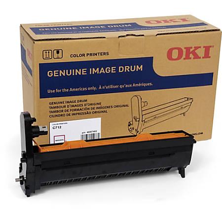 Oki 30K Magenta Image Drum for C712 - 30000 - 1 Each