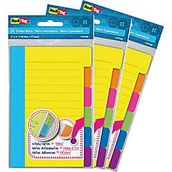 Redi Tag Assorted Tab Ruled Sticky