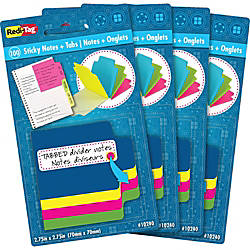 Redi Tag Tabbed Divider Notes 4