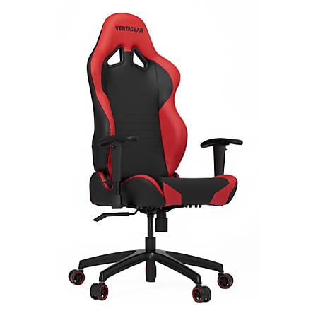Vertagear Racing Series S-Line SL2000 Gaming Chair, Black/Red