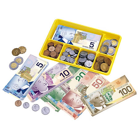 Learning Resources Canadian Currency X-Change™ Activity Set, Multicolor
