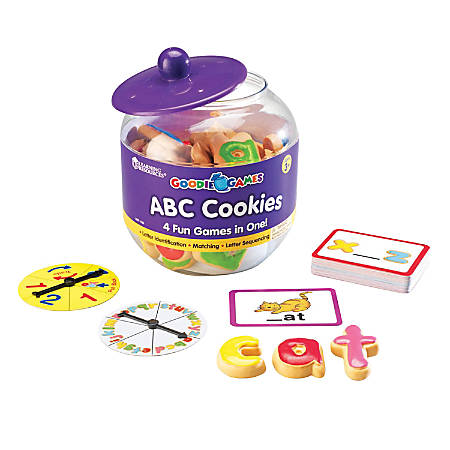 """Learning Resources Goodie Games™ ABC Cookies, 2"""""""