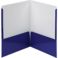 Smead High Gloss Two Pocket Folders