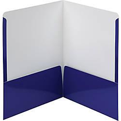 Smead High Gloss Two Pocket Folders