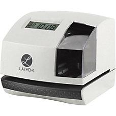 Lathem 100E Electronic Time Clock Biometric
