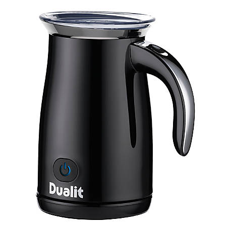 Dualit® Milk Frother, 10.5 Oz, Black
