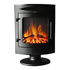 Cambridge Freestanding Electric Fireplace With Log