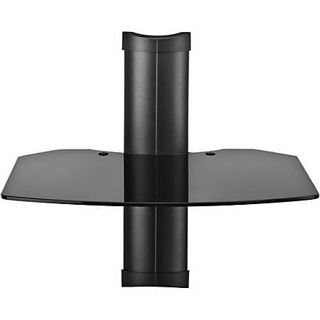 """OmniMount TRIA Series Tria 1 A/V Shelf, 16.5:H x 17.5""""W x 16.5""""D, Black"""