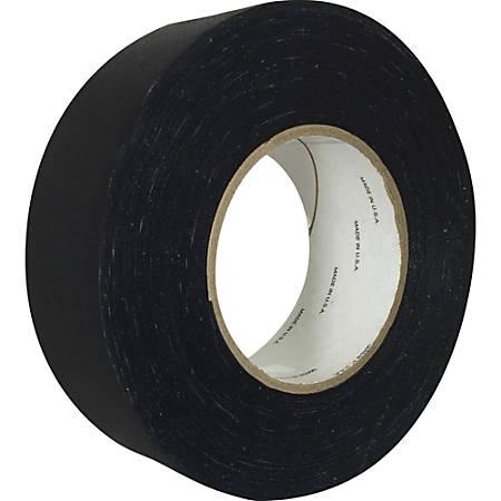 "Sparco Premium Gaffer Tape - 2"" Width x 60 yd Length - Adhesive - 1 Roll - Black"