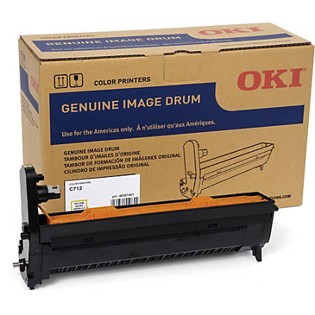Oki 30K Yellow Image Drum for C712 - 30000 - 1 Each - OEM