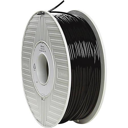 Verbatim PLA 3D Filament 3mm 1kg Reel - Black - Black
