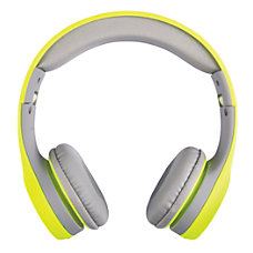 Ativa On Ear Headphones YellowGray WD