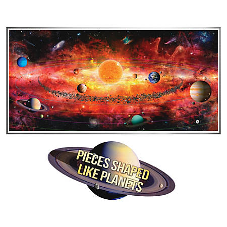 A Broader View 500-piece Solar System Puzzle - Theme/Subject: Learning - 8+500 Piece