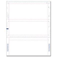 ComplyRight 1099W 2 Blank Z Fold