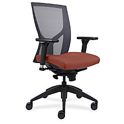 Lorell High Back Mesh Chairs with
