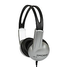 Koss UR10 Stereo Headphones Silver