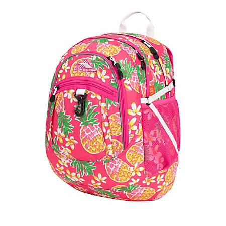 High Sierra® Fatboy Laptop Backpack, Flamingo/Pink PineApple®