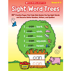 Scholastic Sight Word Trees