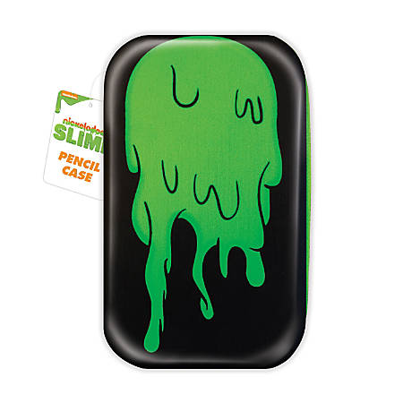 Nickelodeon Slime Molded Pencil Case 2 34 H X 7 12 W X 4 12 D