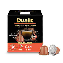 dualit and nespresso compatible coffee nx capsules indian monsoon espresso 7 oz pack of 60 by. Black Bedroom Furniture Sets. Home Design Ideas