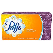 Puffs Facial Tissues 96 Tissues Per