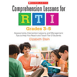 Scholastic Comprehension Lessons For RTI Grades