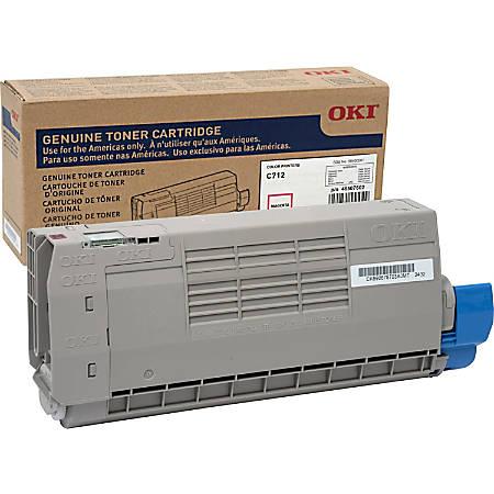 Oki Original Toner Cartridge - Magenta - LED - 11500 Pages - 1 Each
