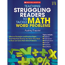 Scholastic Teaching Struggling Readers To Tackle