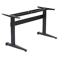 Lorell Pneumatic Adjustable Height Desk Base