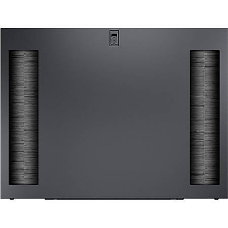"""APC by Schneider Electric Split Feed Through Side Panel - Black - 2 Pack - 38"""" Height - 38"""" Width - 0.6"""" Depth"""