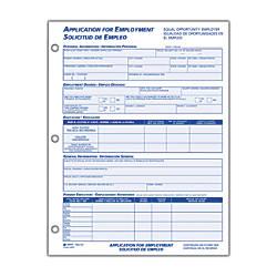 Adams Bilingual Employee Application EnglishSpanish
