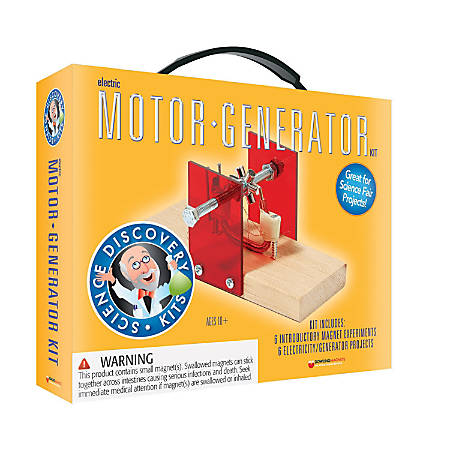 Dowling Magnets Science Motor/Generator Set, Grade 4 - 11