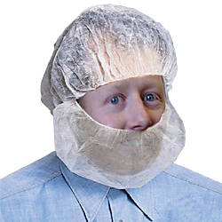 Protective Industrial Products Polypropylene Beard Net