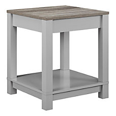Ameriwood Home Carver End Table Square
