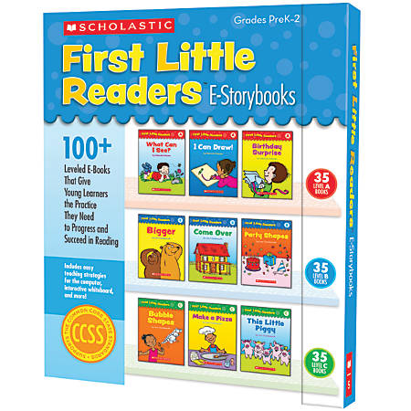Scholastic First Little Readers E-STorybooks