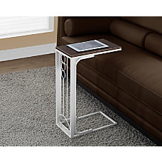 Monarch Specialties Two Tone AccentSnack Table