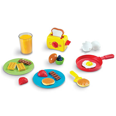 Learning Resources Pretend And Play Rise And Shine Breakfast Set, Pre-K To Grade 2