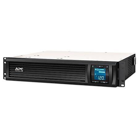 APC® Smart-UPS C 6-Outlet Rackmount With SmartConnect, 1,000VA/600 Watts, SMC1000-2UC
