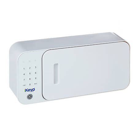 iKeyp Bolt Bluetooth® Smart Safe, White