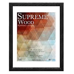 "Timeless Frames® Supreme Picture Frame, 14"" x 18"", Black"