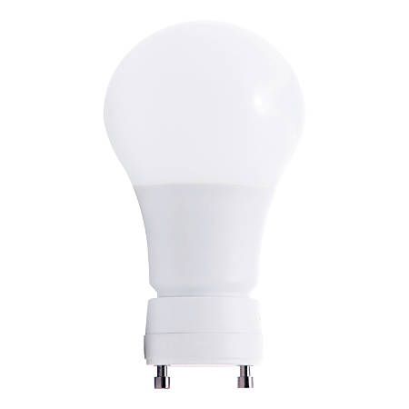Euri A19/ GU24 Base Dimmable 230° 800 Lumens LED Light Bulb, 8.5 Watt, 3000 Kelvin/Warm White