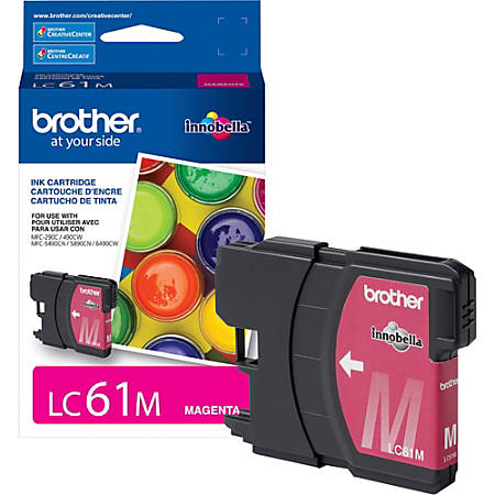 Brother Innobella LC61M Ink Cartridge - Inkjet - Standard Yield - 325 Pages - Magenta - 1 Each