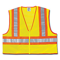 Luminator Class II Safety Vests 2X