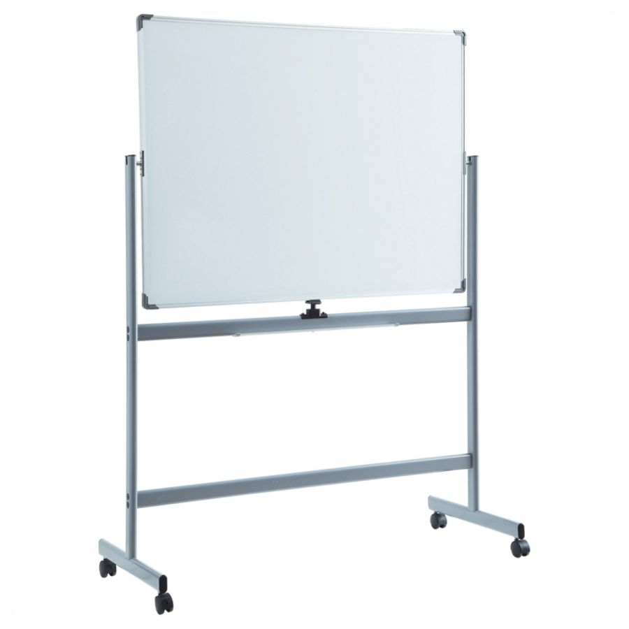 Lorell Magnetic Dry Erase Whiteboard Easel 36 X 48 Metal Frame