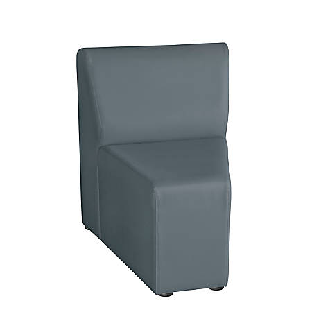 """Marco Inner Wedge Chair, 29.5"""" x 24.5"""", Graphite"""