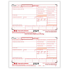 W-2 Tax Forms - Office Depot