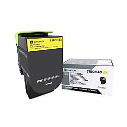 Lexmark 71B0H40 High Yield Yellow Toner